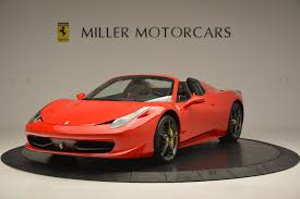 used 458 spider 2015 458 spider stock 4335 for sale near greenwich ct