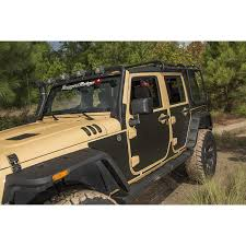 jeep trail sign rugged ridge 12300 53 magenetic body protection panel black 07