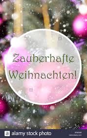 german text frohe weihnachten means merry vertical stock