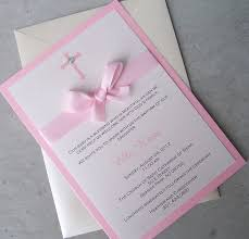 Beautiful Invitation Card Baptism Invitation Cards Afoodaffair Me