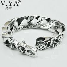 mens bracelet sterling silver images Best heavy sterling silver men 39 s bracelets products on wanelo jpg