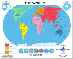 World Continents And Countries Map by World Countries Labeled Map At Labeled Labeled World Map