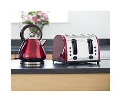 Red Kettle And Toaster Red Legacy Kettle And Toaster Russell Hobbs Vintage Kettle U0026 4