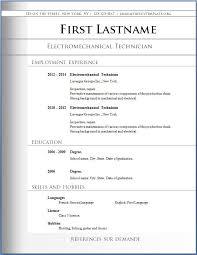 resume templates free download best www resume format free download word resume sles 12