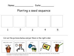 autism tank science unit plants