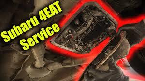 subaru automatic transmission subaru 4eat automatic transmission service youtube