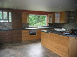 kitchen with light oak cabinets decorative italian kitchen tiles honey oak cabinets with granite