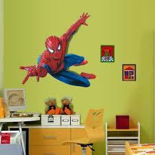 bed spiderman bedroom decorations