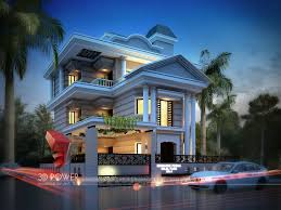 bungalow design 3d bungalow design 3d modern bungalow rendering elevation design