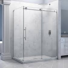 Sliding Shower Doors For Small Spaces Frameless Glass Shower Doors Cost Sliding Framed Door The