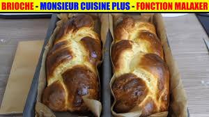 recettes cuisine plus brioche monsieur cuisine plus lidl programme malaxer silvercrest
