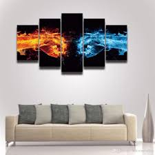 2017 canvas prints art cool fist picture artistic painting for