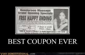 Funny Massage Memes - best coupon ever very demotivational demotivational posters