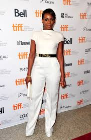 white and gold jumpsuit genevieve nnaji sizzles in a white andrea iyamah jumpsuit at the