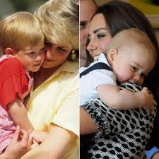 lady charlotte diana spencer princess diana and kate middleton with their kids pictures