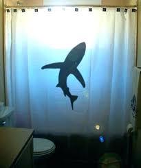 jaws shower curtain shark shower curtain lovely shark bathroom decor for shark shower curtain kids bathroom