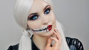 Halloween Skull Makeup Tutorial Glam Skull Makeup Tutorial Halloween Emma Miller Youtube