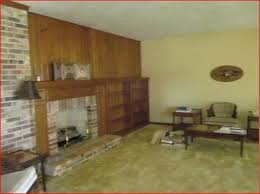 Built In Bookcases With Tv Early 80 U0027s Living Room With Brick Wall And Built In Shelves