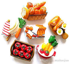 magnet cuisine high quality resin 3d simulation fridge magnet creative