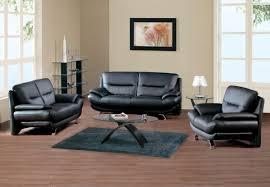 Unique Black Leather Sofa Set 58 On Sofa Room Ideas With Black