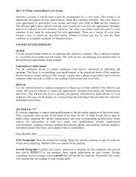 effective cover letter format 23 captivating cover letter for dream job resume sample writing a