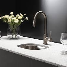 kraus kitchen combos 18 x 15 undermount kitchen sink with
