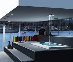 amazing bath tub filler from the ceiling by fornara u0026maulini spa