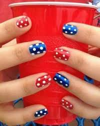fourth of july nail art nail manicure manicure and makeup