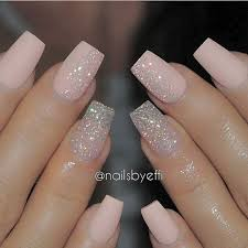 best 25 acrylic nails glitter ideas on pinterest glitter nails