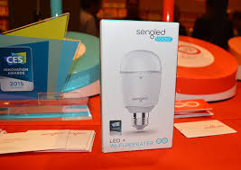 What Is A Led Light Bulb by Sengled U0027s Smart Led Light Bulbs Are Multi Taskers Can Extend Wi Fi