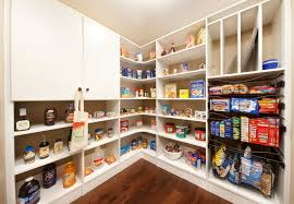 Kitchen Pantry Organization Systems - pantry shelving systems kitchen traditional with custom pantry