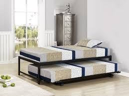 kings brand furniture twin size black metal platform bed with pop