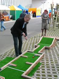 Backyard Golf Games Want To Play Mini Golf Play It At Home Interchangeable Mini Golf