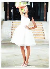 robe de mariã courte création d une robe de mariée courte les ateliers de claraines