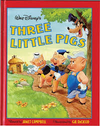 pigs disney book