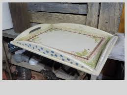 kitchen kitchenware collectibles vintage inspired wooden serving tray tea tray breakfast tray