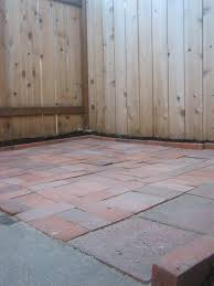 laying a paver patio bye bye rent hello mortgage laying a brick paver patio