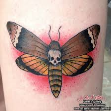 old moth tattoo by rock n roll tattoo