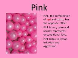 opposite color of pink how can color effect the way we feel ppt video online download