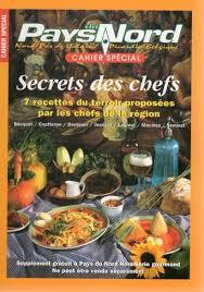 cours de cuisine kenwood cahier spécial secrets des chefs pays du nord bibliothèque perso