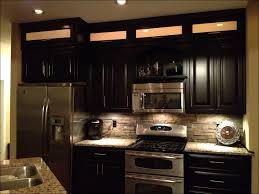 kitchen black stained cabinets light green kitchen cabinets
