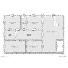 plan de maison avec 4 chambres plan de maison 120m2 photo en bois l plain pied surface