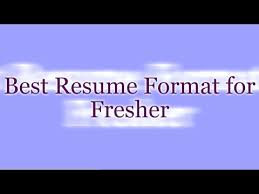 biodata format for freshers resume format for freshers youtube