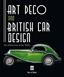 book review u2013 art deco and british car design the airline cars of