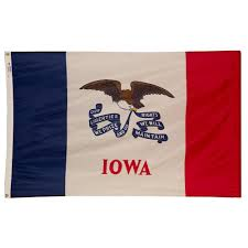 Home Depot Garden Flags Valley Forge Flag 3 Ft X 5 Ft Nylon Iowa State Flag Ia3 The