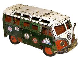volkswagen van hippie meccano volkswagen camper from the film convoy by philip webb