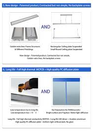 Suspension Luminaire But by 150x1200 Ceiling Light Panel Led Recessed Square Luminaire Buy