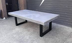 concrete patio dining table concrete dining set concrete dining table concrete table