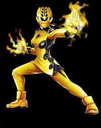 power rangers jungle fury yellow ranger dxpro deviantart