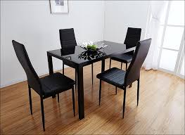Comfy Dining Room Chairs by Kitchen Glass Dining Room Table Table Chairs Metal And Wood